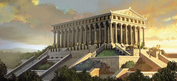 7 merveilles du monde les mots n 39 en font qu 39 leur t te for Architecture perse